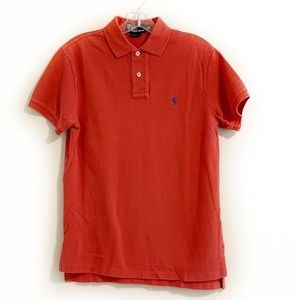 Polo by Ralph Lauren Logo Soft Red Polo Shirt